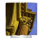 Details Palace Of Fine Arts Shower Curtain