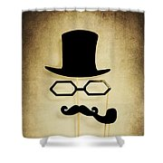 Detective Shower Curtain
