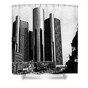 Detroit Rc From Congress Shower Curtain