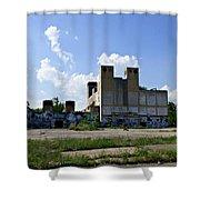 Detroit Rock City Shower Curtain