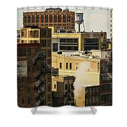 Detroit Steam City Shower Curtain