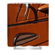 Deucenberg Hot Rod Interior Door Shower Curtain