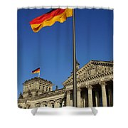 Deutscher Bundestag Shower Curtain
