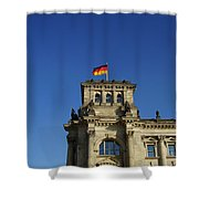Deutscher Bundestag II Shower Curtain