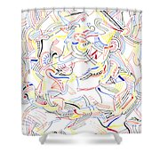 Deviate Shower Curtain