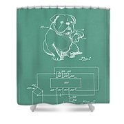 Device For Protecting Animal Ears Patent Drawing 1d Shower Curtain