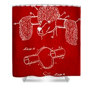 Device For Protecting Animal Ears Patent Drawing 1k Shower Curtain