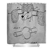 Device For Protecting Animal Ears Patent Drawing 1l Shower Curtain