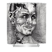 Devil May Cry Shower Curtain