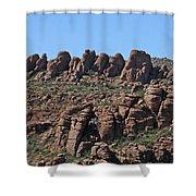 Devils Canyon Arizona Shower Curtain