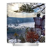 Devil's Doorway Shower Curtain