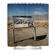 Devil's Golf Course IIi Shower Curtain