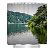 Devils Lake Wisconsin Shower Curtain