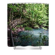Devil's Millhopper Gainesville Fl II Shower Curtain