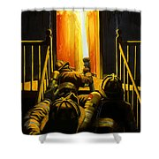 Devil's Stairway Shower Curtain