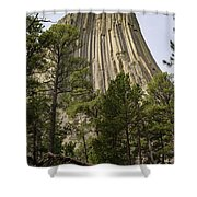 Devils Tower 10 Shower Curtain