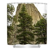 Devils Tower 4 Shower Curtain