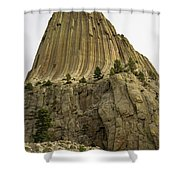 Devils Tower 5 Shower Curtain