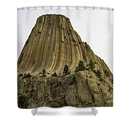 Devils Tower 6 Shower Curtain