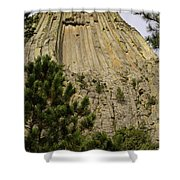 Devils Tower 8 Shower Curtain