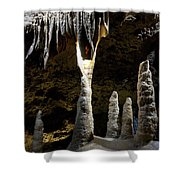 Devils's Cave 4 Shower Curtain