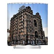Divine Lorraine Hotel - Broad Street Philadelphia Shower Curtain