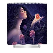 Devotee To Beauty Shower Curtain