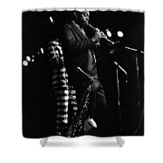 Dewey Redman Shower Curtain