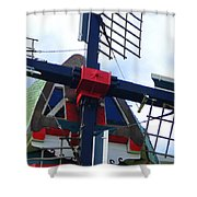 Dezwaan Windmill Holland Michigan Shower Curtain