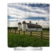 Dh Day Farm 9 Shower Curtain