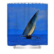 Dhow On The Indian Ocean 2 Shower Curtain