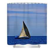 Dhow On The Indian Ocean Shower Curtain