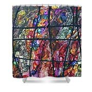 Diabolical Madness - Original Shower Curtain