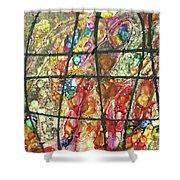Diabolical Madness - V1cfs100 Shower Curtain