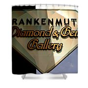 Diamond And Gem Gallery Shower Curtain