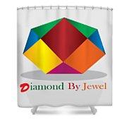 Diamond Art Shower Curtain