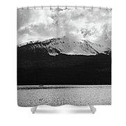 Diamond Lake  Shower Curtain
