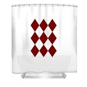 Diamond Poker Card Game Symbol Abstract Modern Art On T-shirts N Pod Navinjoshi Fineartameririca Shower Curtain