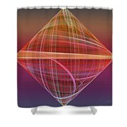 Diamond Ripple Shower Curtain