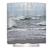 Diamond Shoals - Outer Banks Nc Shower Curtain