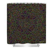 Diamond Tile Insanity Shower Curtain