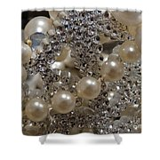 Diamonds And Pearls 2 Shower Curtain