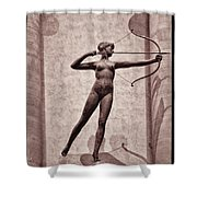 Diana - Goddess Of Hunt Shower Curtain