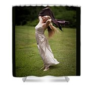 Diana, Goddess Of The Hunt #2 Shower Curtain