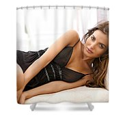 Diana Morales Shower Curtain