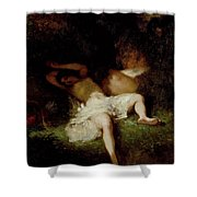 Diana Resting Shower Curtain