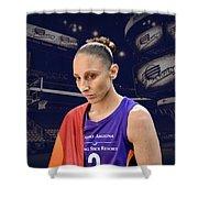 Diana Taurasi Lgbt Pride 4 Shower Curtain