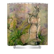 Diana's Garden Shower Curtain