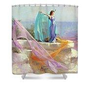 Diaphanous Shower Curtain