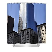 Dichotomy Shower Curtain